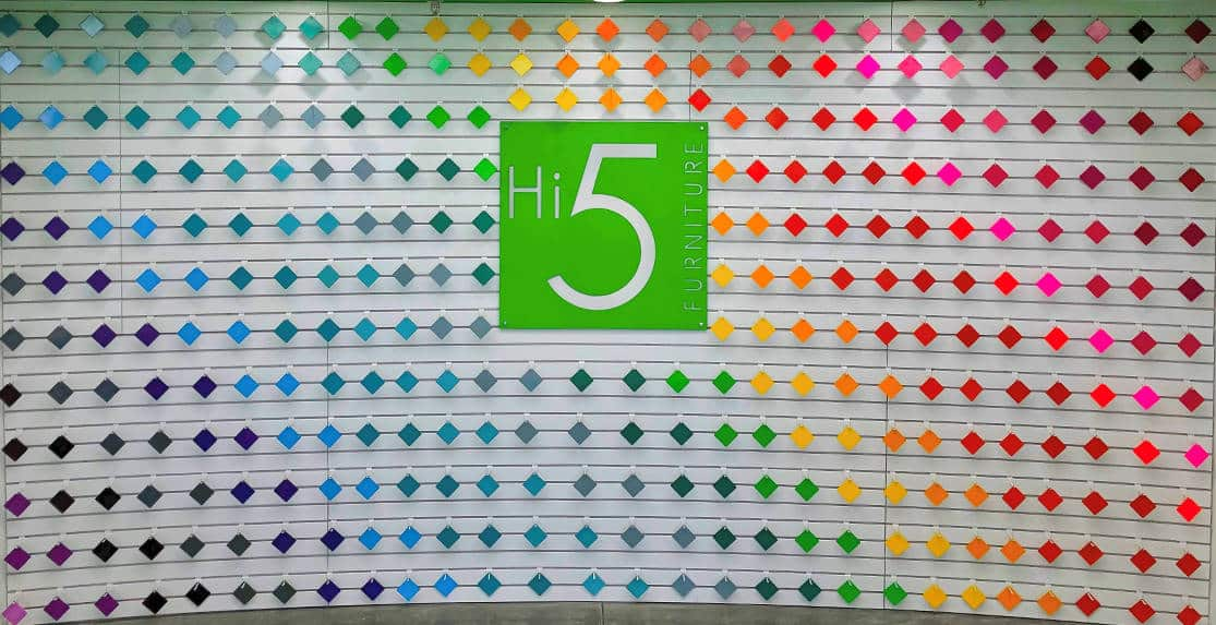 reception background at Hi5